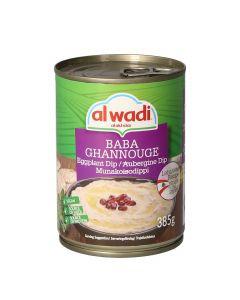 *BABA GHANOUGE 385g -Al Wadi- AL WADI